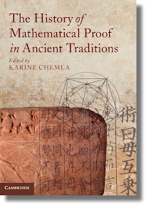 [Chemla: History of Mathematical Proof in Ancient Traditions]