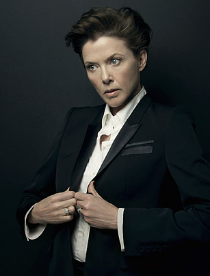 annette roque. Annette Bening with makeup by