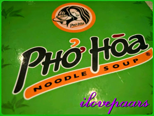 Ash Wednesday dinner in Pho Hoa Greenhills