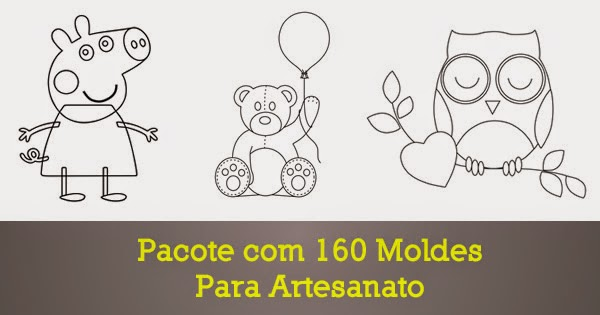 Pacote 160 moldes