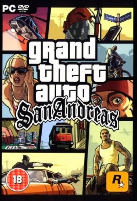 Cover Of GTA San Andreas Extreme Edition (2011) Full Latest Version PC Game Free Download Resumable Links at Alldownloads4u.Com