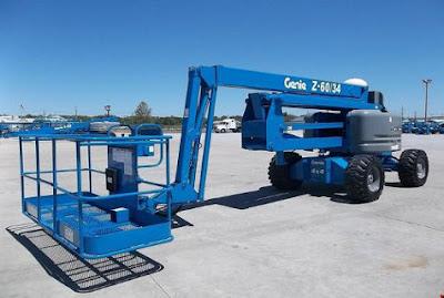 Genie articulating boom lift Z-60/34