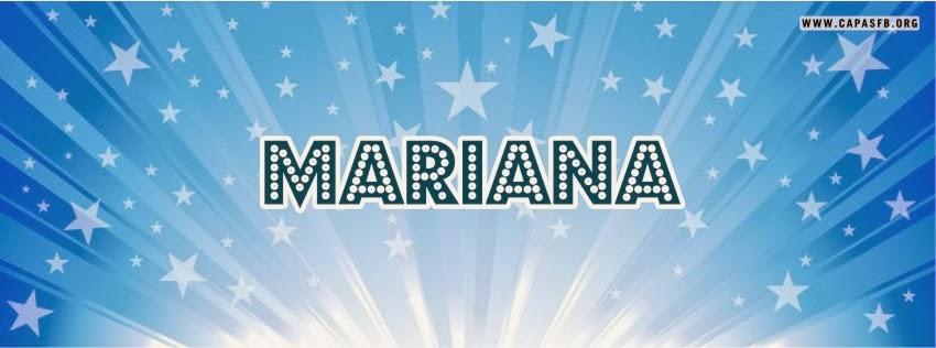 Capas para Facebook Mariana