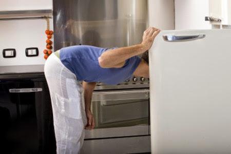 frigo aperto