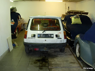 renault 5 alpine turbo au garage. Black Bedroom Furniture Sets. Home Design Ideas