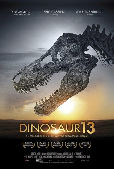 Poster Of English Movie Dinosaur 13 (2014) Free Download Full New Hollywood Movie Watch Online At Alldownloads4u.Com