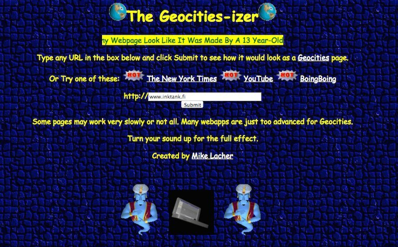 Web-site-or-geocities-izer