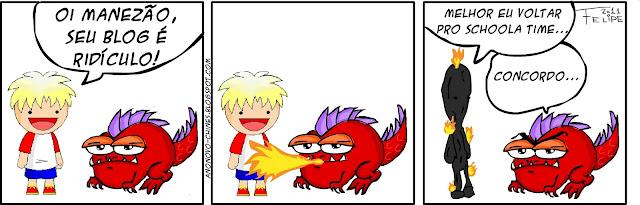 Draco e Dino - Pode esperar sentado - Ano Novo Chinês