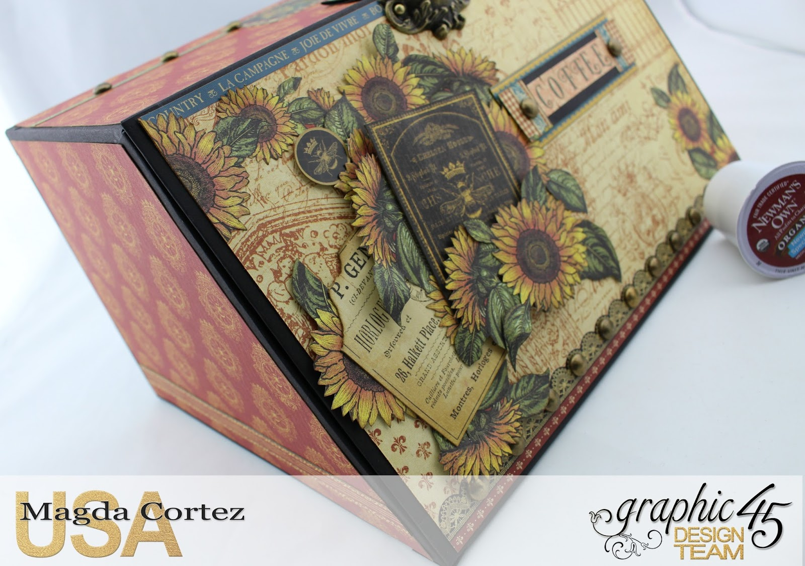 Country Coffee Holder- French Country By Magda Cortez, Product by G45, Photo 06 of 07, Project with tutorial.jpg