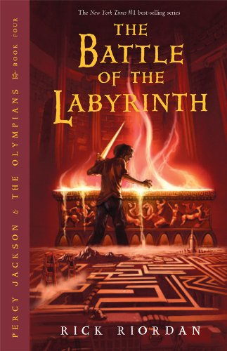 Book Review: Percy Jackson & The Battle of the Labyrinth (Percy Jackson & The Olympians Book 4), By Rick Riordan Cover Art
