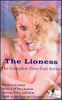 Cherish Desire Divinations: The Lioness (The Complete Four Part Series), Heather, Erik, Helene, Max, erotica, shapeshifter