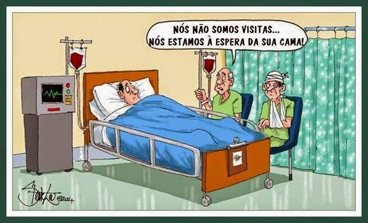 Cartoons - O estado do Sistema Nacional de Saúde