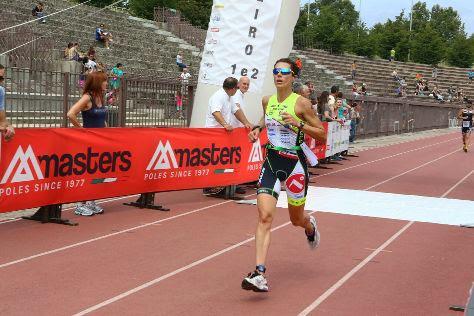 Claudia Bordiga sul podio di Milano