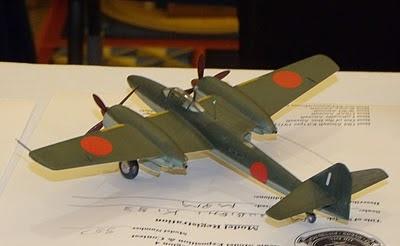 Mitsubishi Ki-83 model