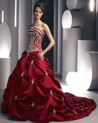 small-red-winter-wedding-dresses