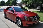 2012 CADILLAC CTS 7K MILES RED LEATHER TINT 3.0 HEAT SEATS BOSE LUXURY LIVE NEW