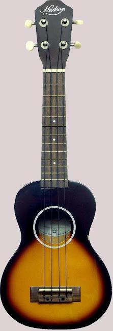 Hudson Sunburst Acoustic Soprano Ukulele
