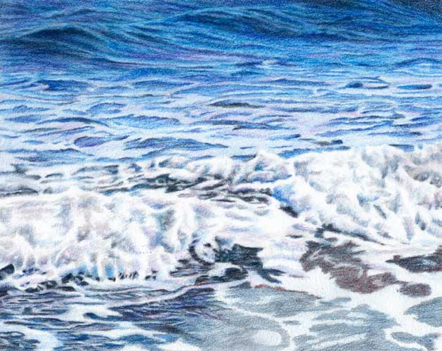 Ocean Water Drawing Water was an amazing blue Ocean Water Drawing