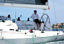 J/122 sailboat- ultimate offshore racing sailing boat