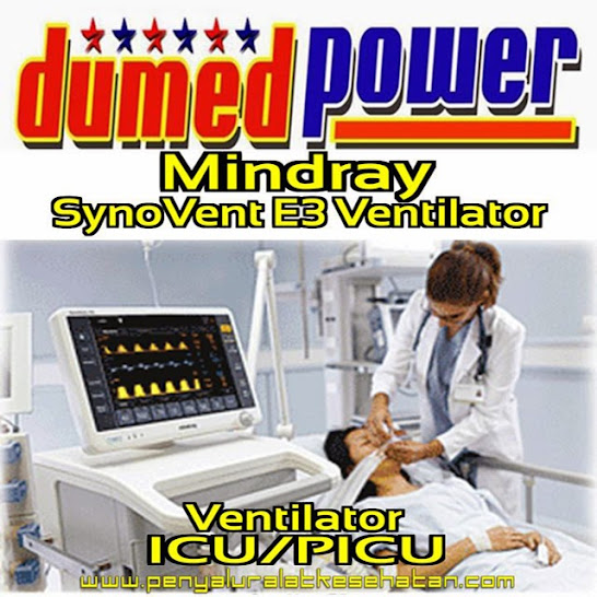 Mindray-SynoVent-E3-Ventilator-Pediatric-And-Adult-Made-in-China