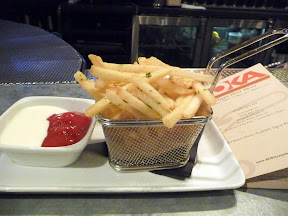 Boka Seattle's The Dons' Truffle Fries with truffle oil, truffle salt, parsley