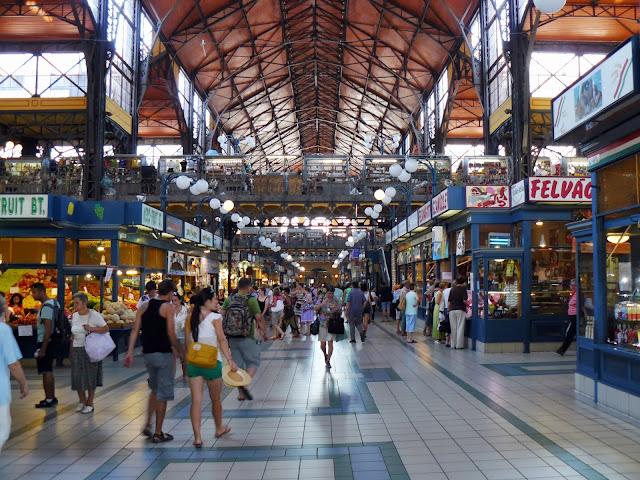 Nagycsarnok, il Mercato Coperto