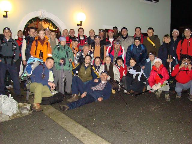Noćni uspon na Japetić, 26.12.2015.
