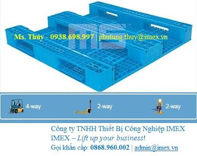 Pallet nhựa 1300 x 1300 mm Malaysia