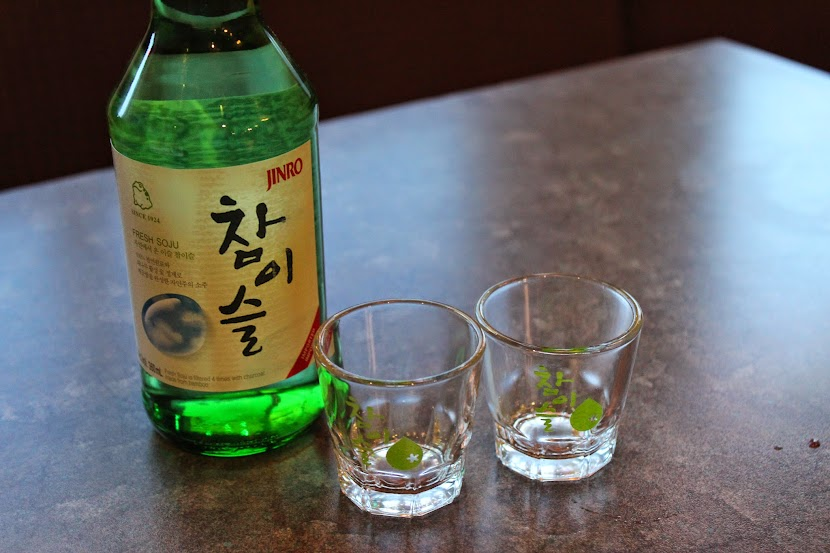 Soju at Paldo Gangsan
