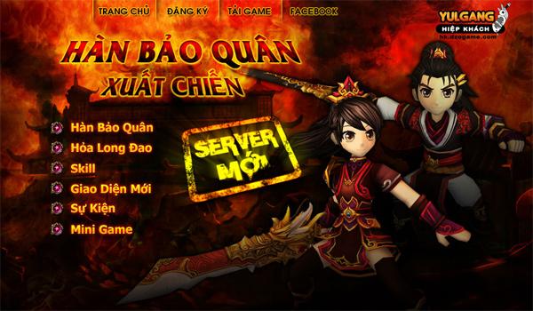 Hiệp Khách Online ra mắt nhân vật mới Hàn Bảo Quân 2