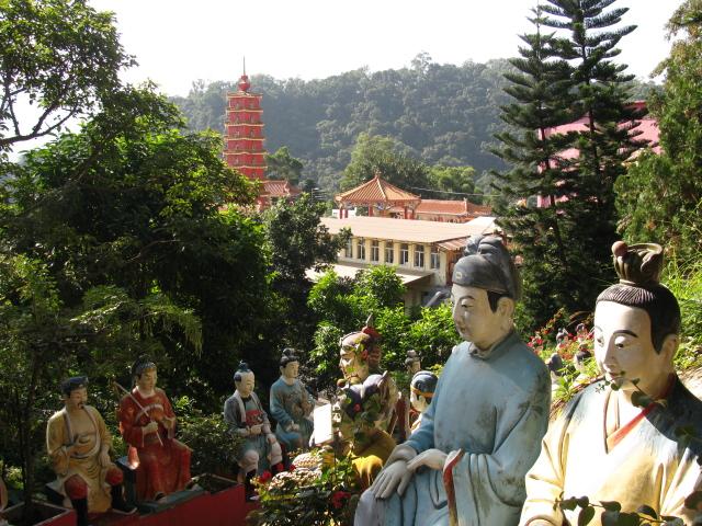 painted buddhas