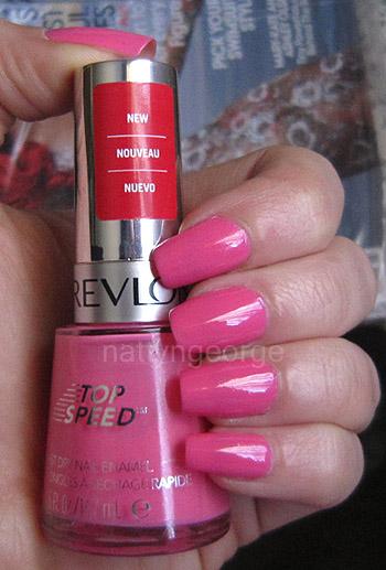 NOTD: Revlon Top Speed Nail Enamel in #130 Candy! – MISS NATTY'S ...