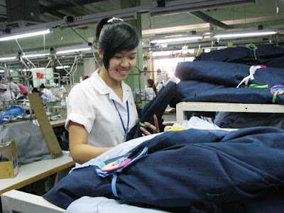 Đơn hàng may quần áo đồng phục cần 9 nữ thực tập sinh làm việc tại Fukushima Nhật Bản tháng 07/2016
