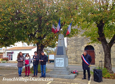 French Village Diaries 11th November remembrance France