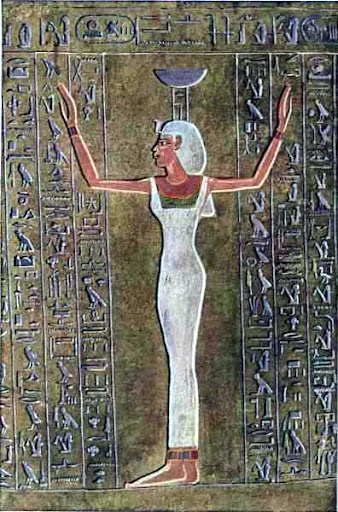 Nephthys Egyptian Goddess Of The Dead Image