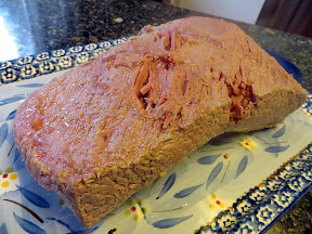 St Patricks Day food: corned beef, cabbage, Vegetarian Shepherd's Pie