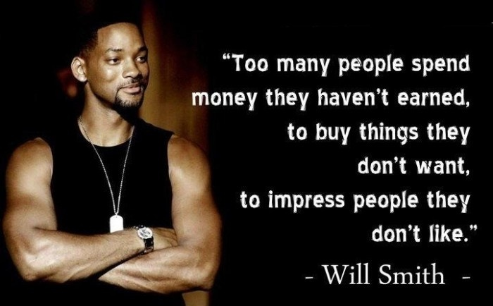 About Spending Money To Impress People