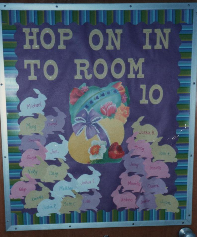 Bulletin Board Ideas 2 Year Olds: ELEMENTARY SCHOOL ENRICHMENT ACTIVITIES: APRIL BULLETIN BOARDS