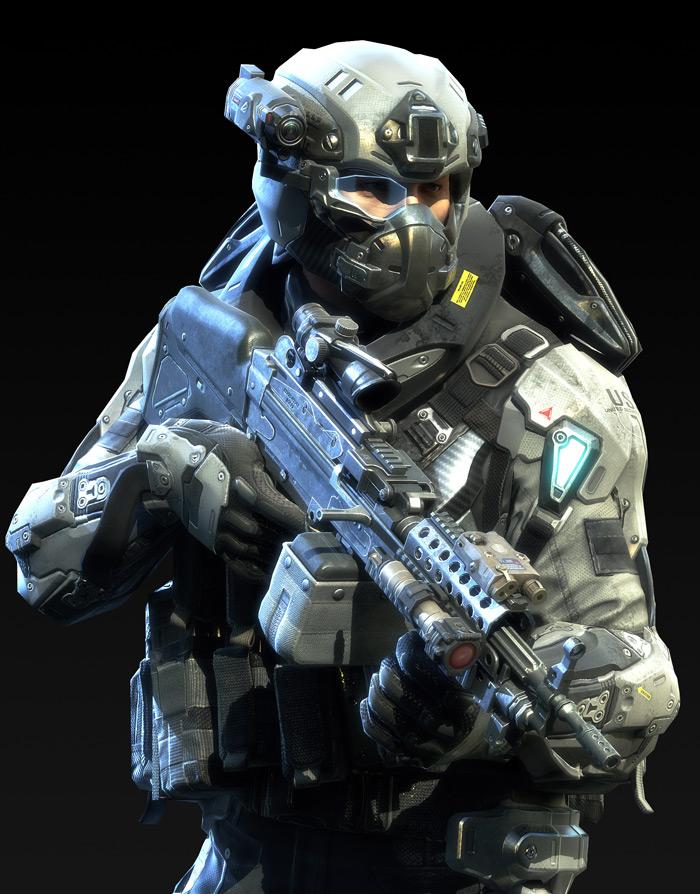 Tạo hình nhân vật trong Metro Conflict - Ảnh 1