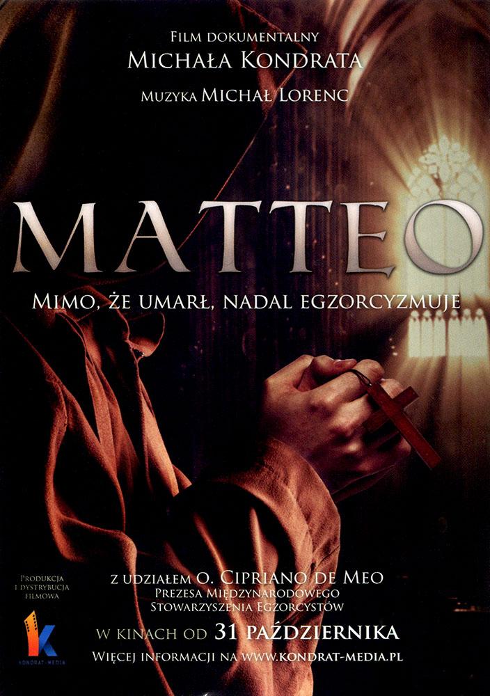 Ulotka filmu 'Matteo (przód)'