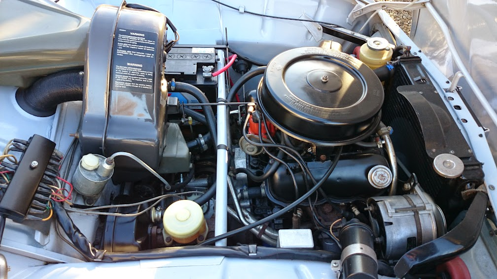 SAAB 96 V4 Engine bay