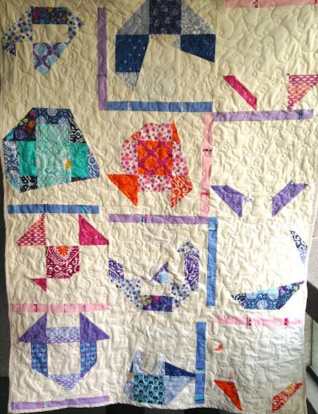 modern quilt along improv