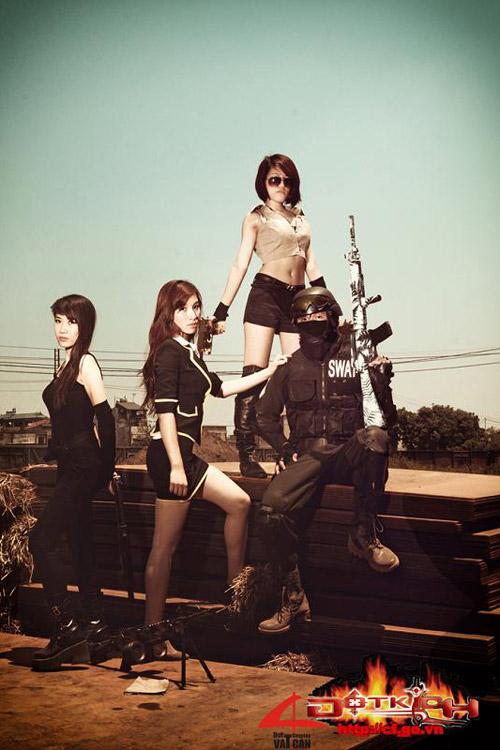 Game thủ Việt tung ảnh cosplay về Đột Kích 17