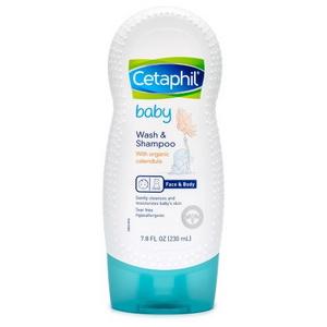 Sữa tắm gội cho bé Cetaphil baby wash and shampoo with organic calendula