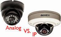 аналоговые или IP-видеокамеры