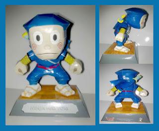 Ninja Hattori Papercraft Kanzo