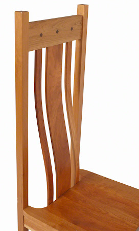 Shenzen Chair in Natural Cherry