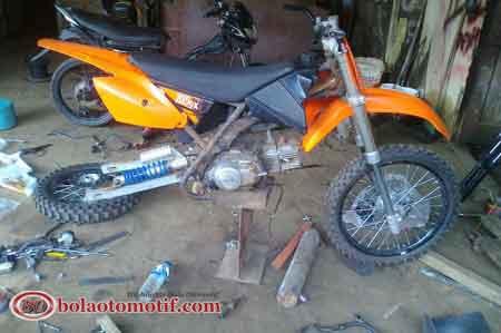 Gambar Modifikasi Motor Yamaha Crypton