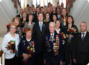Губернатор вручил государственные и региональные награды