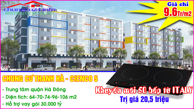 Chung Cư Thanh Hà Cienco 5 Tòa  M1A, M1B, M1C